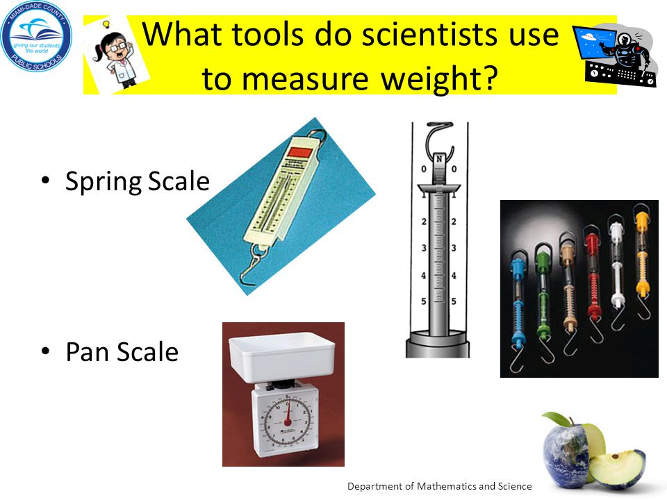 Department of Mathematics and Science Measuring Mass – Triple-Beam Balance A triple-beam balance can be used to find the mass of various objects. The