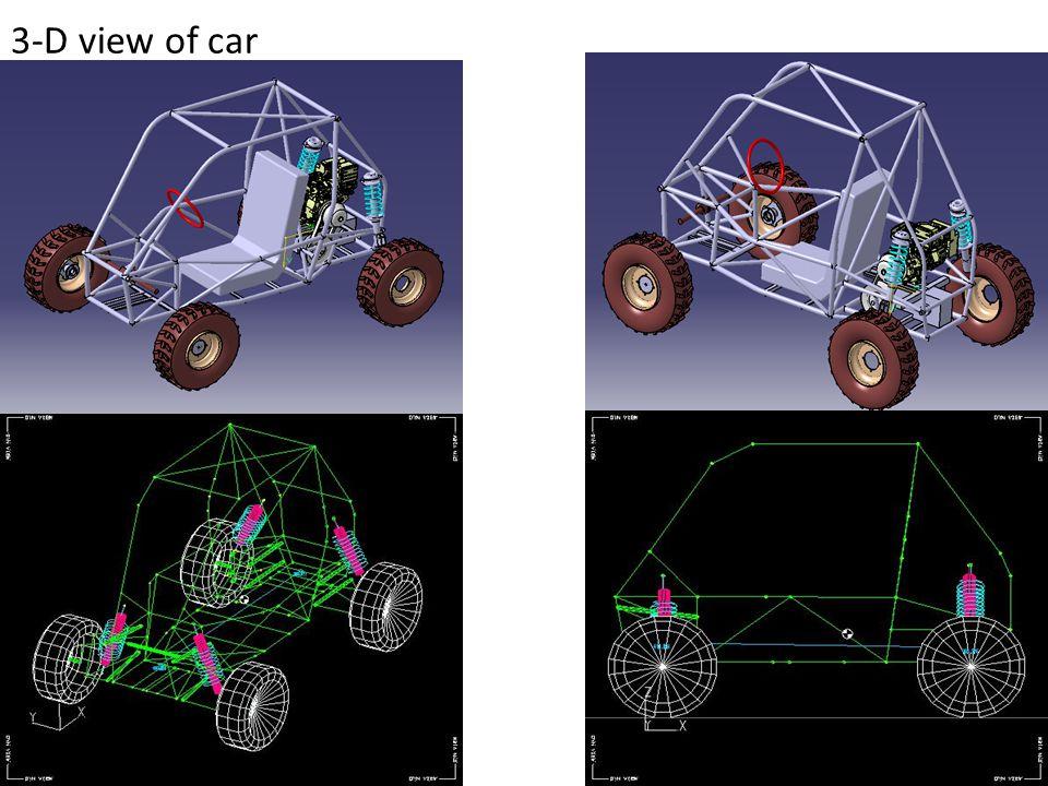 3-D view of car