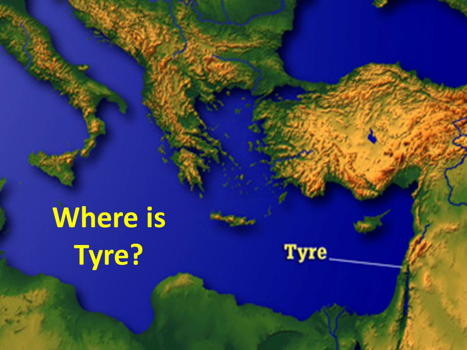 Where is Tyre