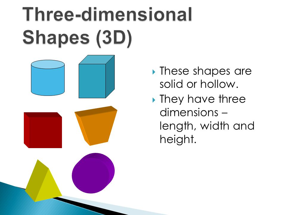 AA three-dimensional shape which has a polygon for its base and triangular faces which meet at one vertex.