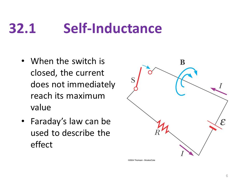What happens to the energy stored by an inductor when the current through it is doubled.