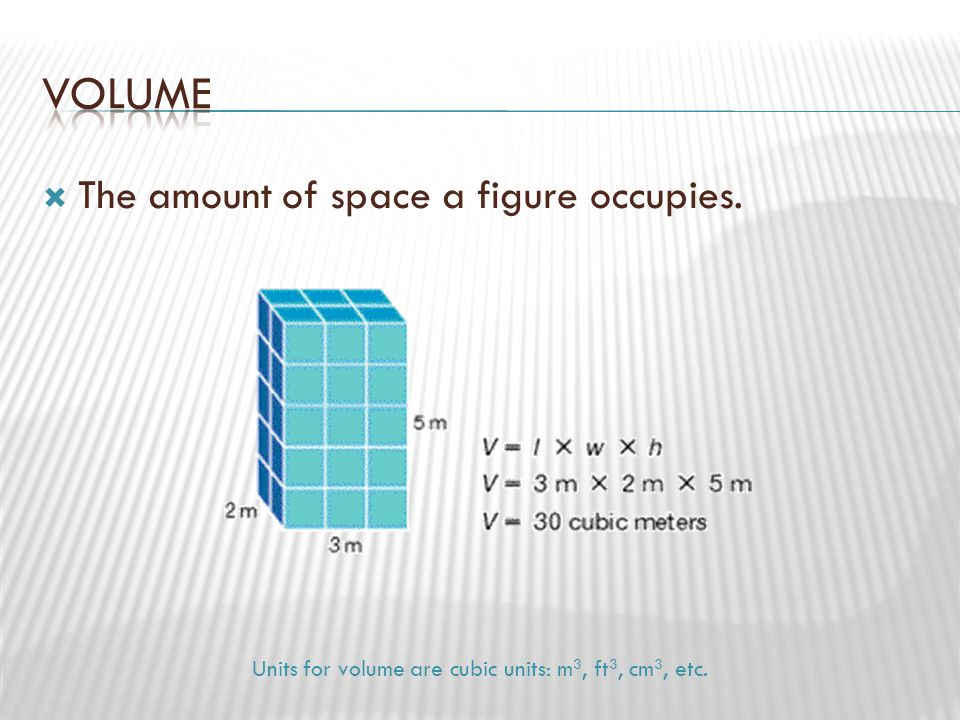  What are the volume and surface area of a cone with the dimensions shown in the figure?