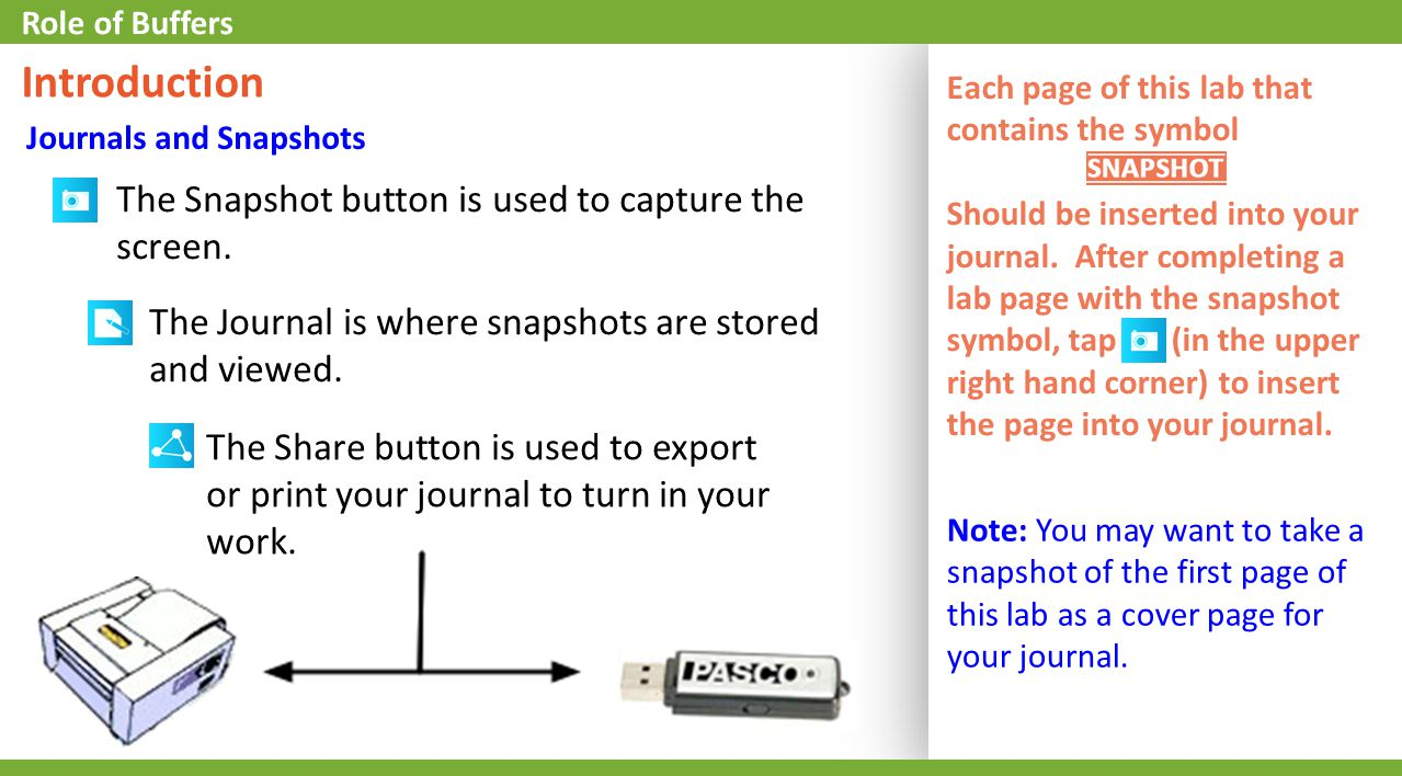 5.Find the initial and final pH for the data run.* 6.Enter the initial/final pH in the data table, on the next page.