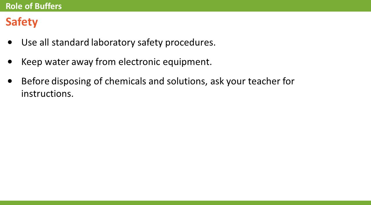 3.Which of the following would indicate a strong acid.