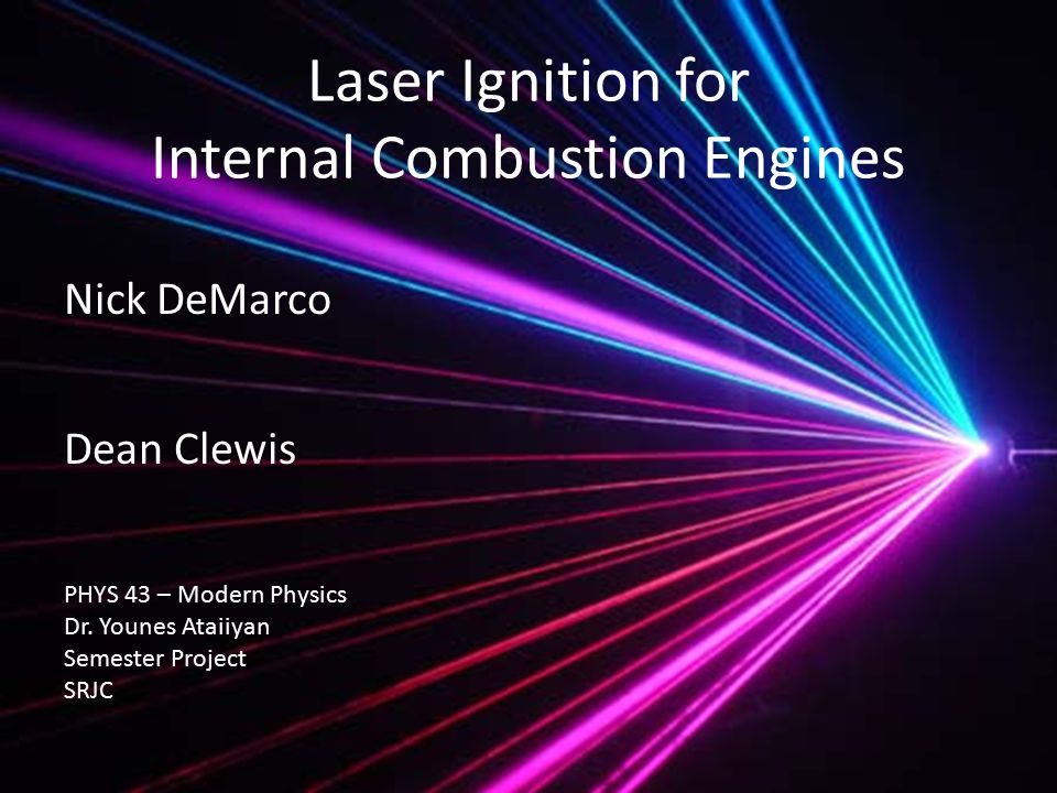 So, what is a ? Generally, most of us think of lasers like this, which isn't entirely wrong…