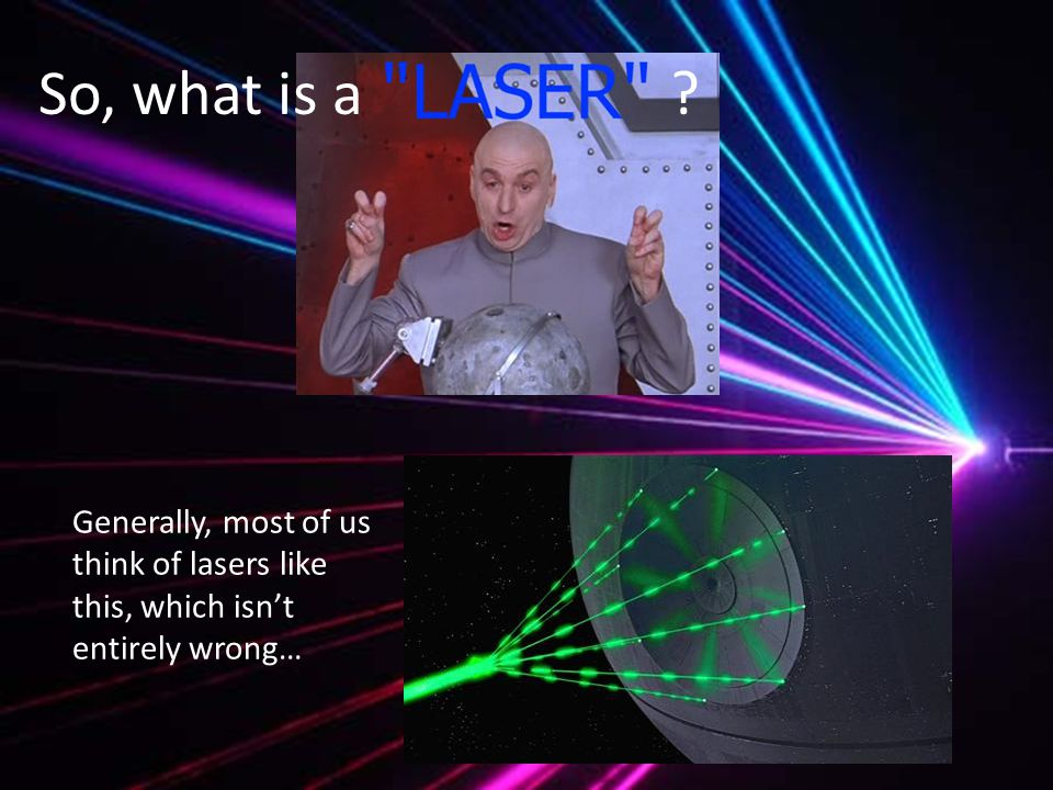 What is a Laser.