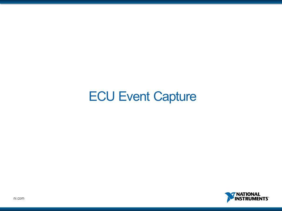 ni.com ECU Event Capture