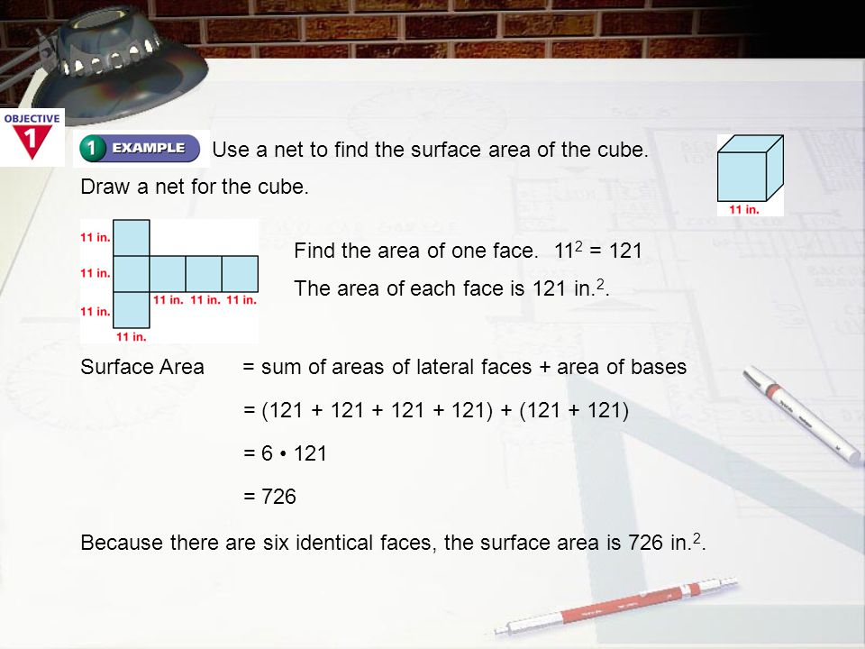 You try Use a net to find the S.A. of the triangular prism