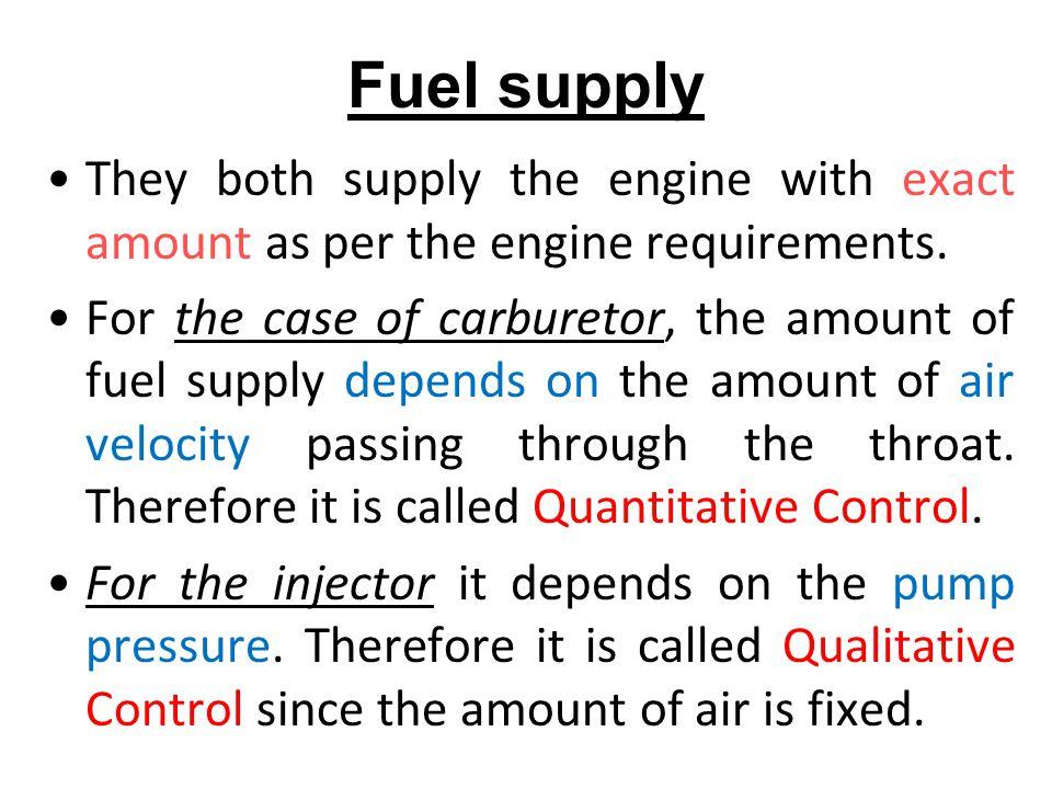 Problems of Carburetor Maldistribution for multi-cylinder engines.