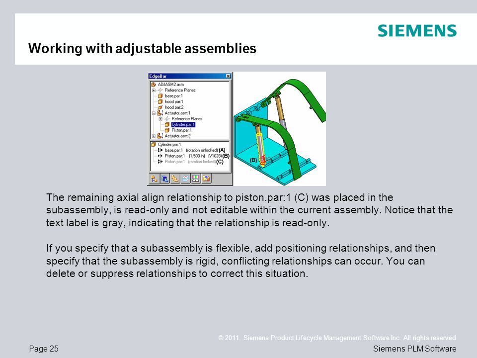 Page 25 © 2011. Siemens Product Lifecycle Management Software Inc.