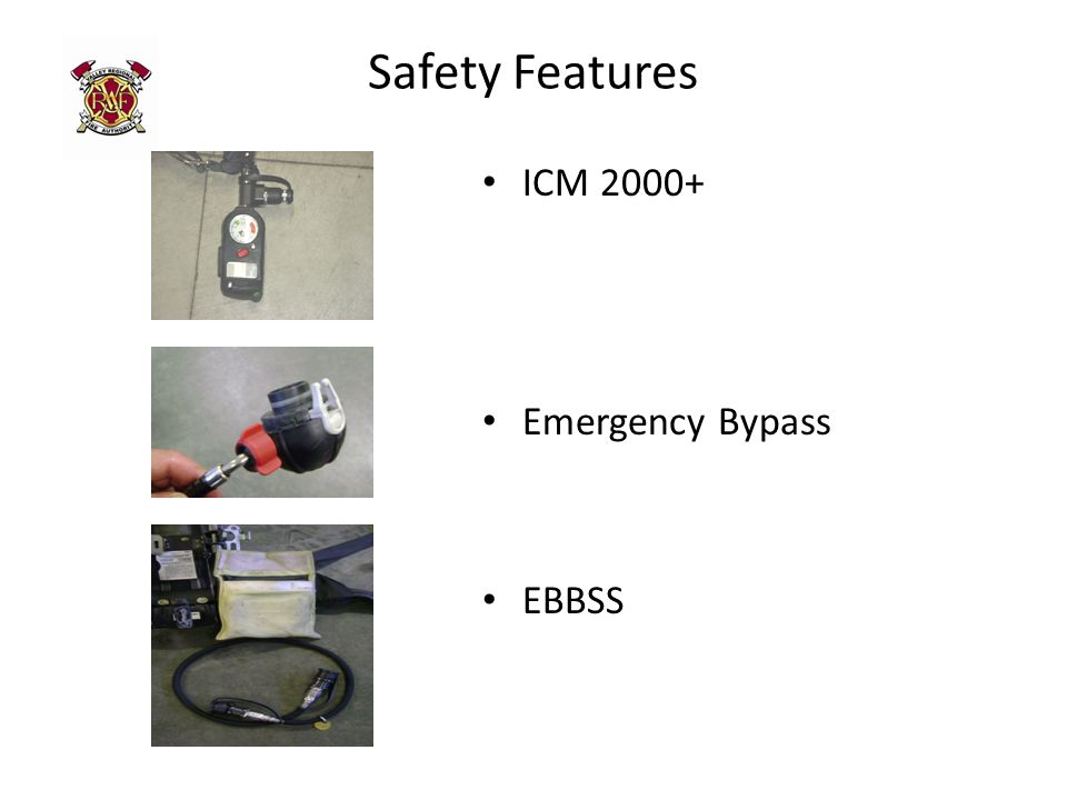 Safety Features ICM 2000+ Emergency Bypass EBBSS