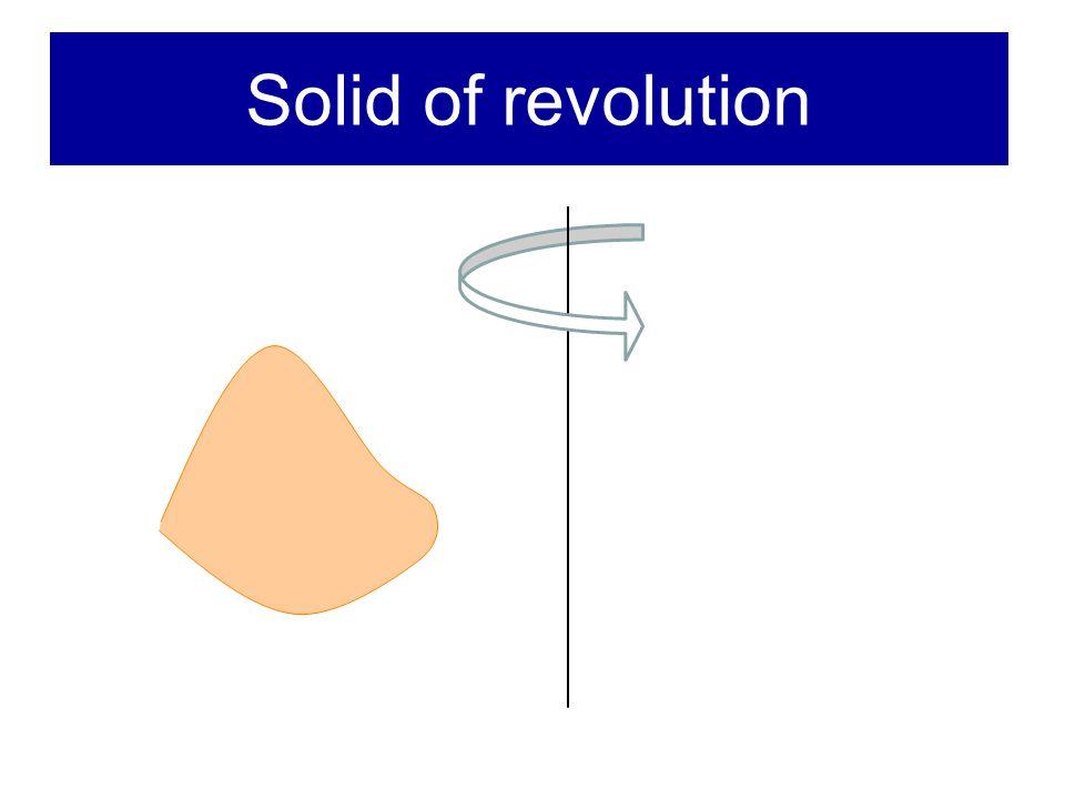 Solid of revolution