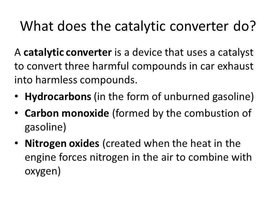 How does gas make a car go?