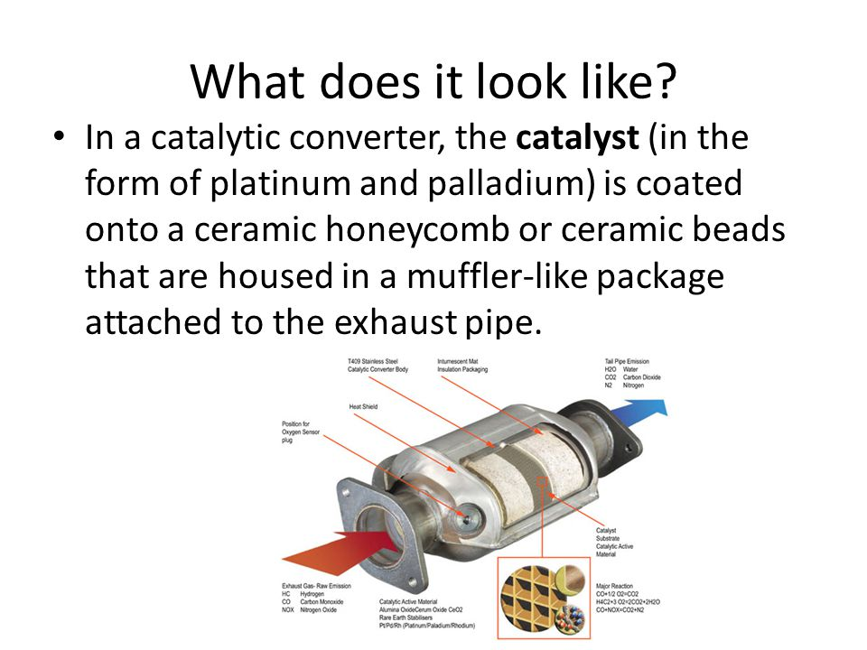Why are these compounds bad? Hydrocarbons are suspected carcinogens. – Gets converted into carbon dioxide and water Carbon monoxide is a poison for an