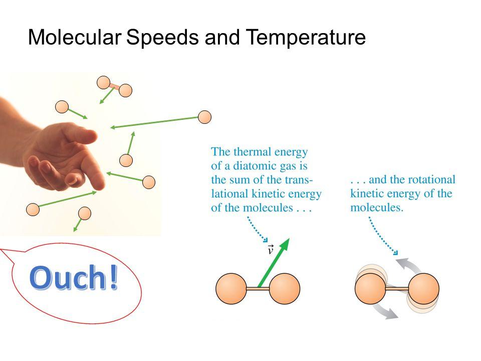 Molecular Speeds and Temperature