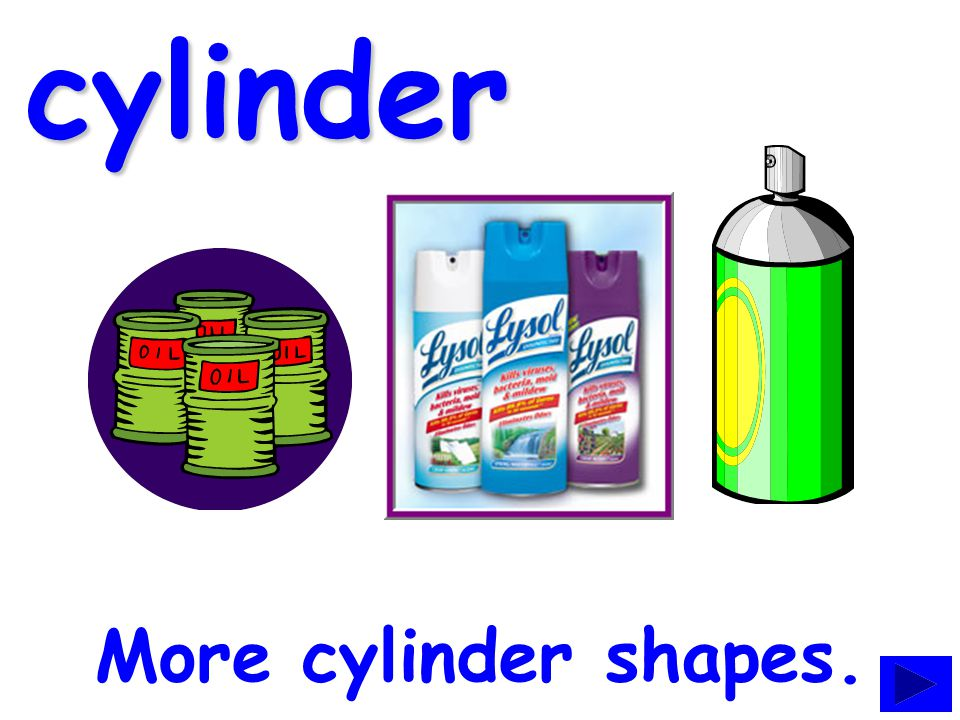 cylinder A can can be a cylinder.