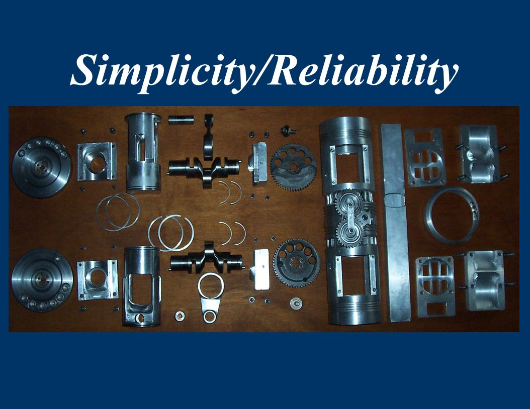 Simplicity/Reliability exhaust).