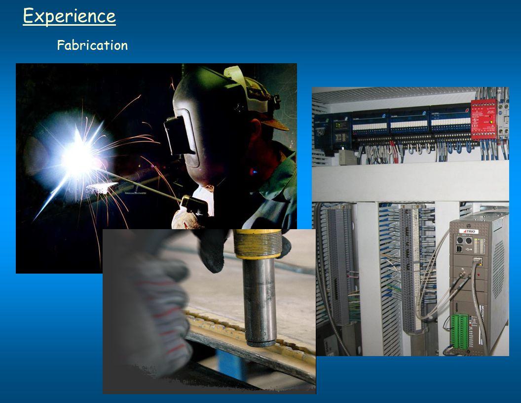 Experience Fabrication