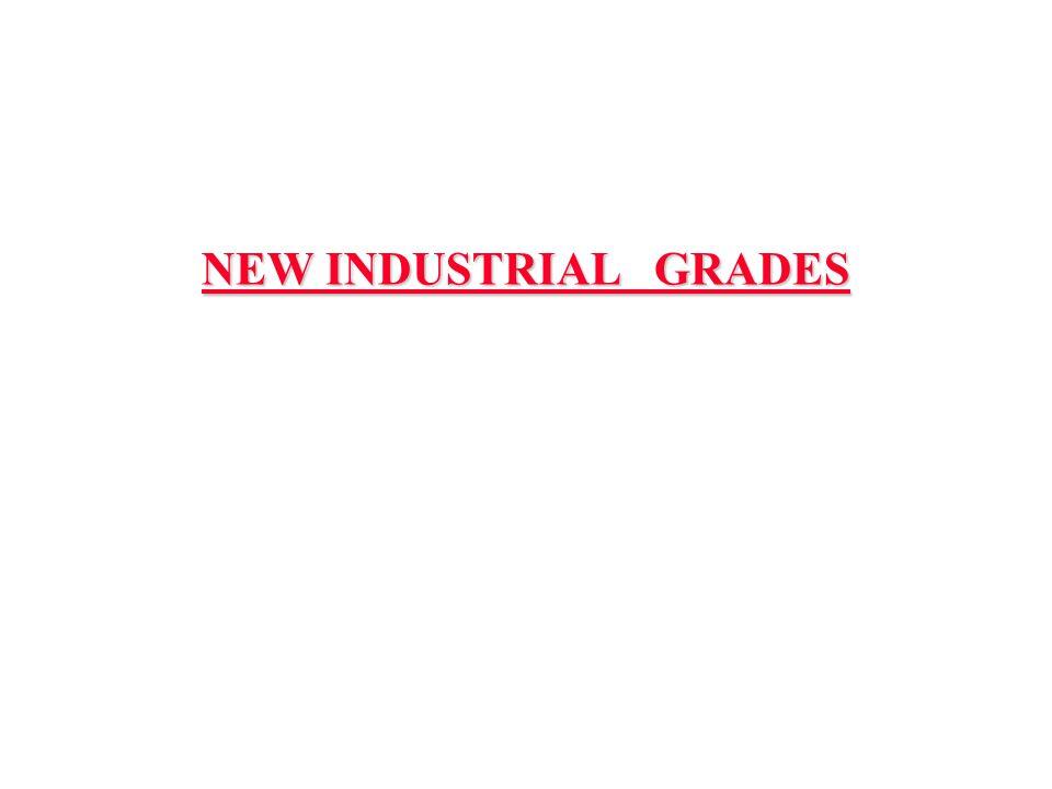 NEW INDUSTRIAL GRADES
