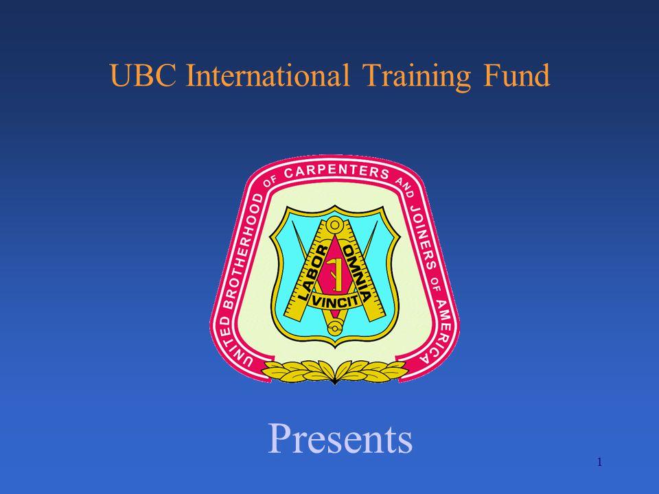 1 UBC International Training Fund Presents