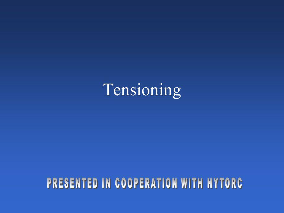 Tensioning