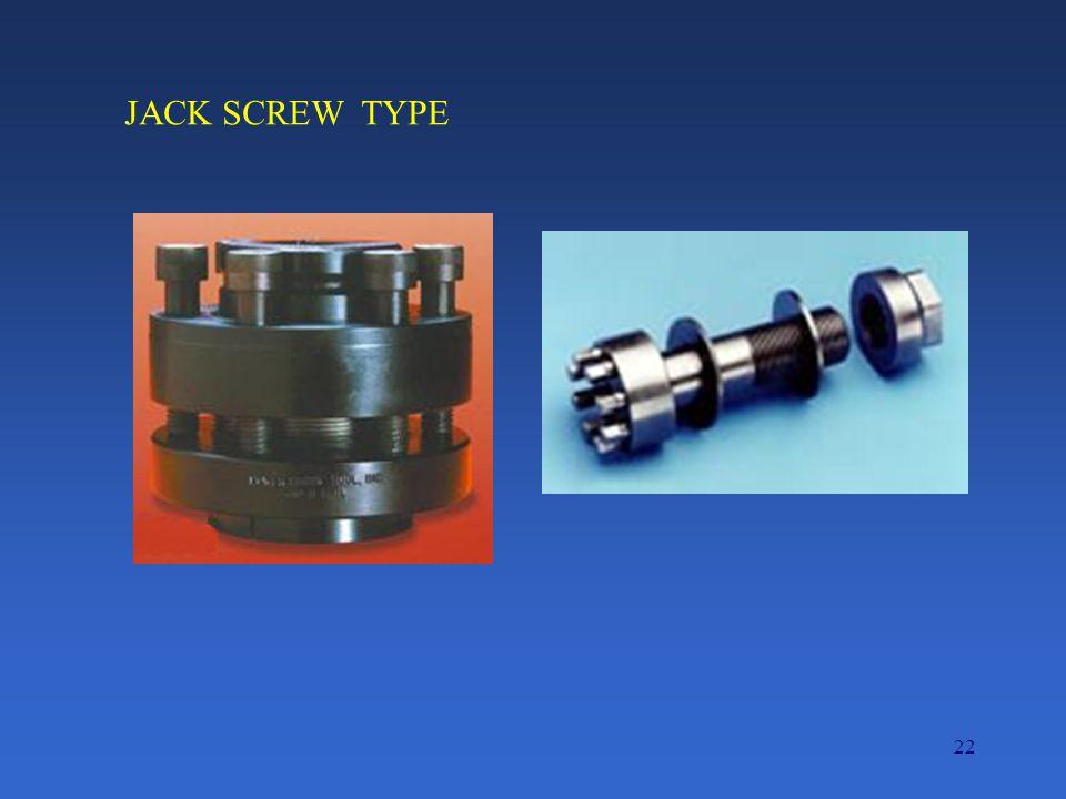 22 JACK SCREW TYPE