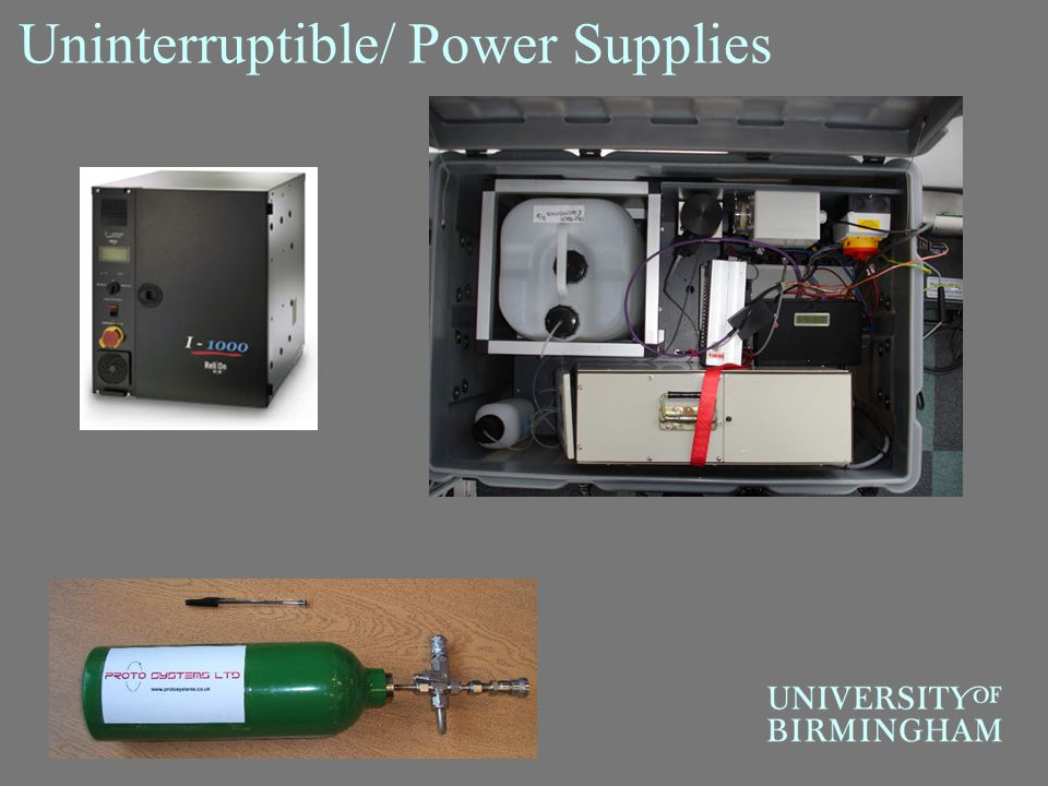 Uninterruptible/ Power Supplies