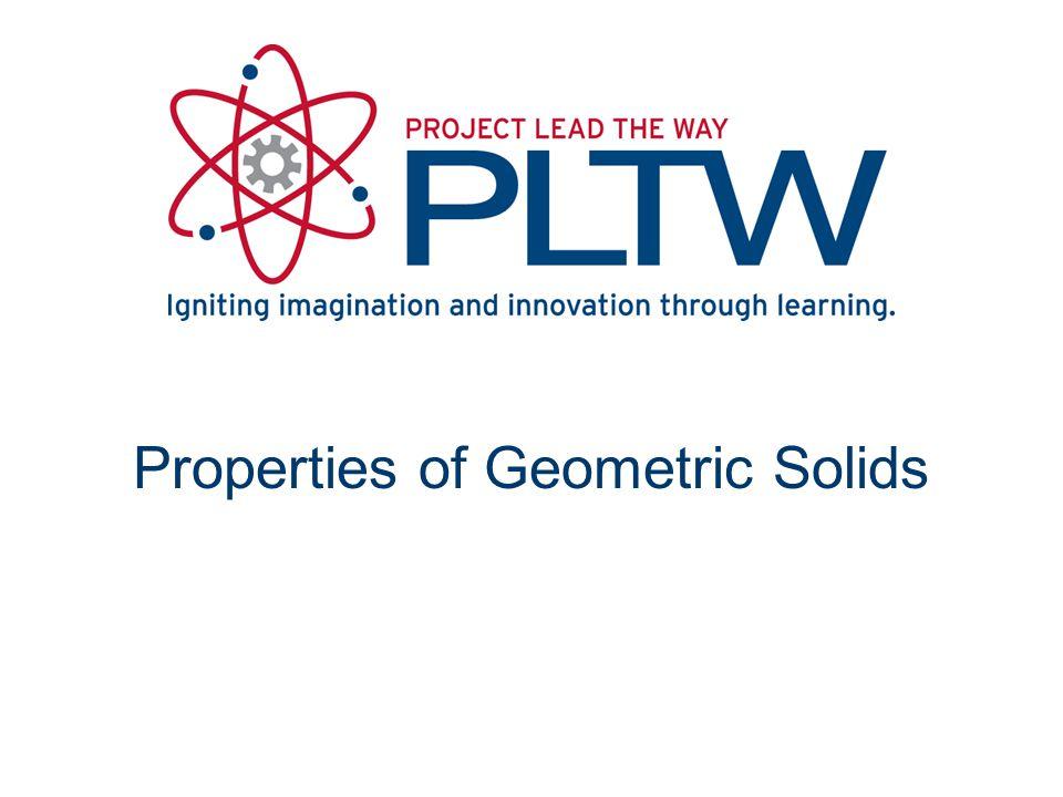 Properties of Geometric Solids