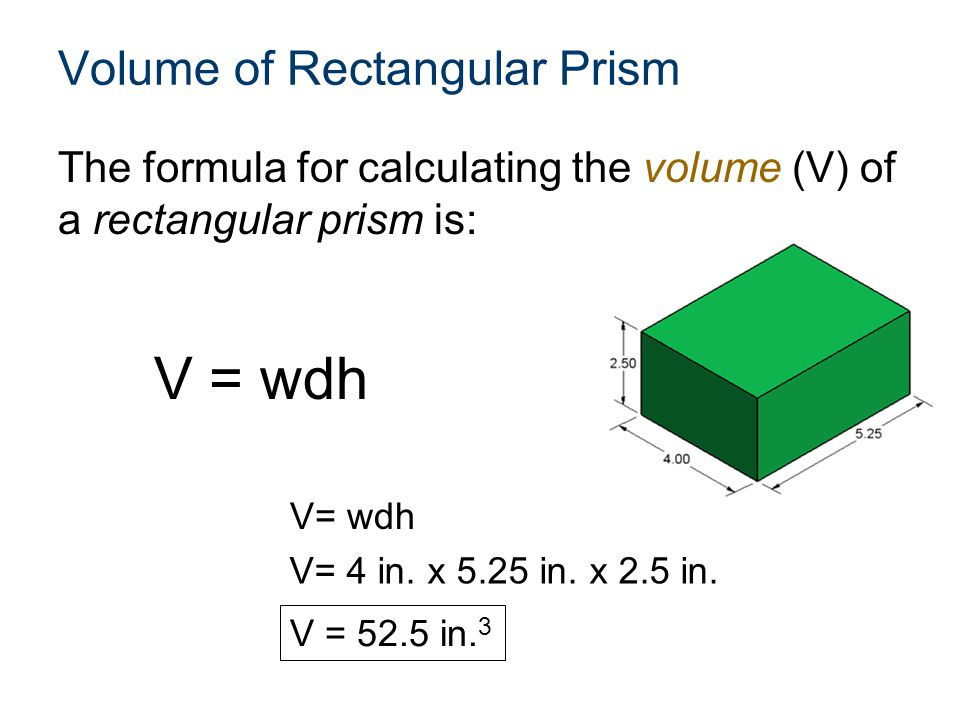Surface Area Calculations In order to calculate the surface area (SA) of a cube, the area (A) of any one of its faces must be known.