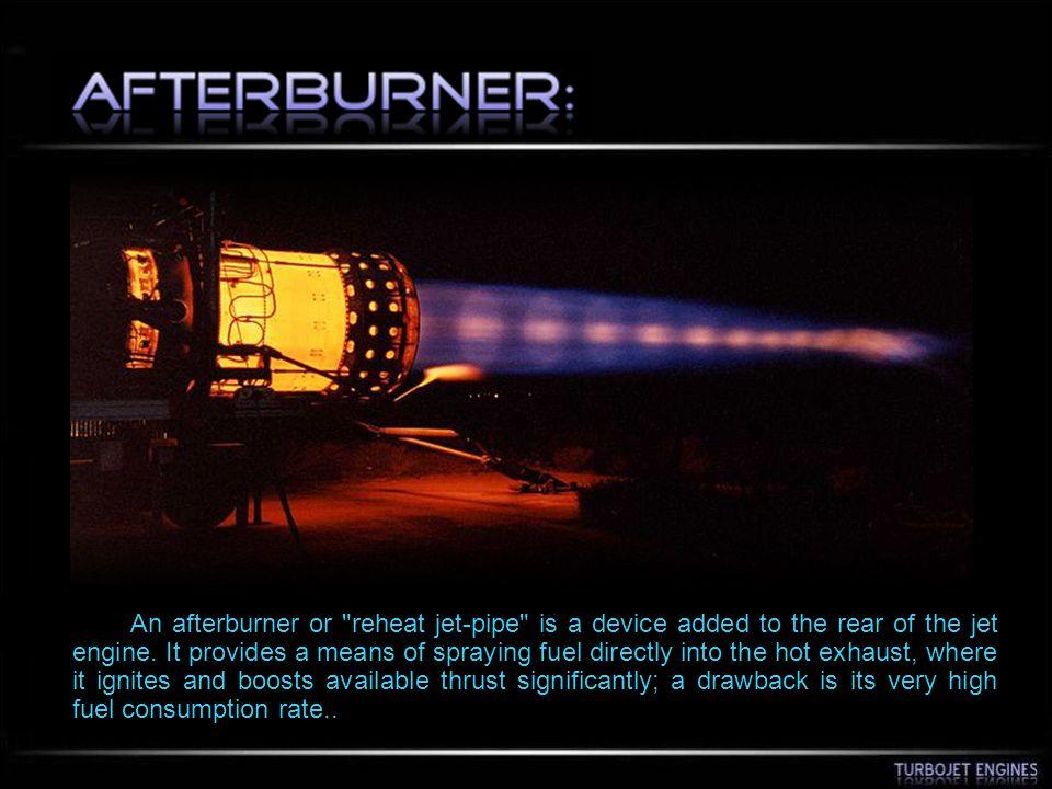An afterburner or