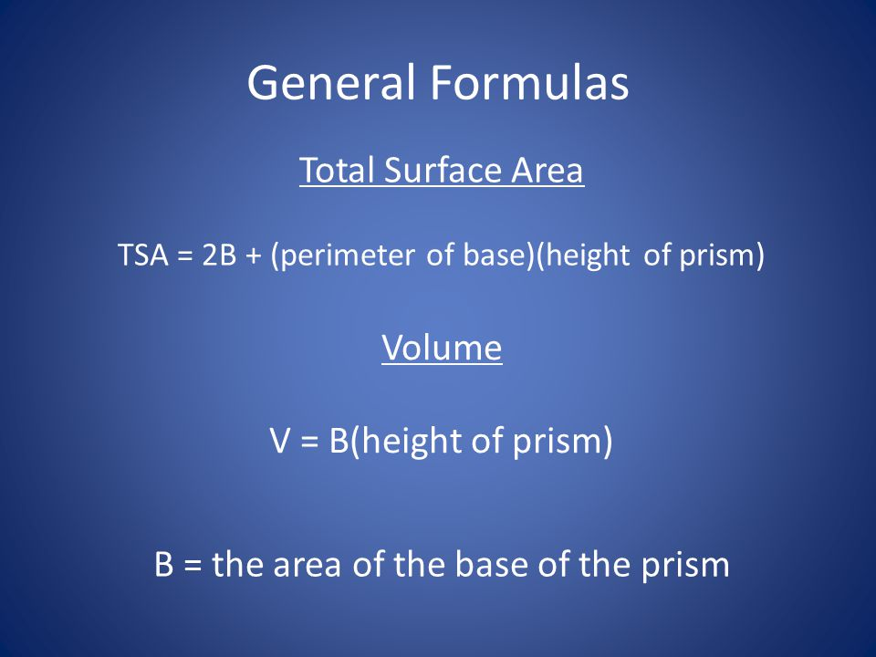Volume Find the volume of the rectangular prism.