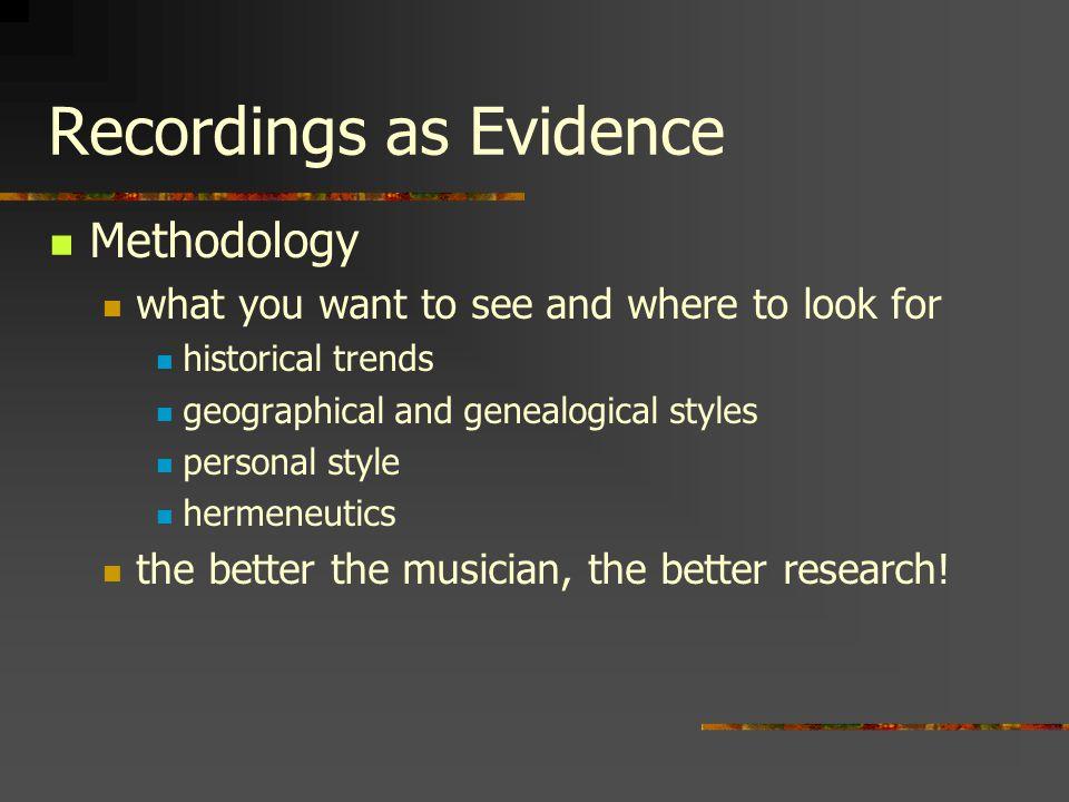 Recording Methods 1877 Thomas Edison: Tinfoil Phonograph (Cylinder)