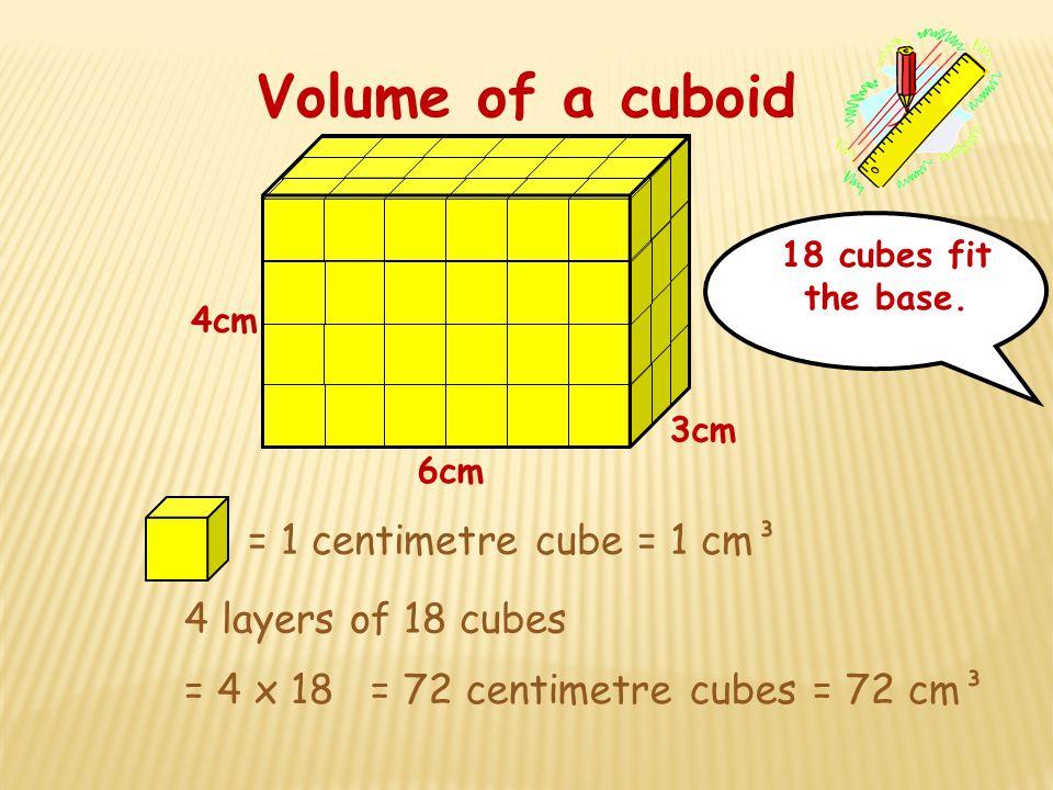 34cm Example 2 Working Volume = l x l x l V = 34 x 34 x 34 V = 393cm 3