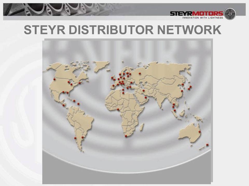STEYR DISTRIBUTOR NETWORK