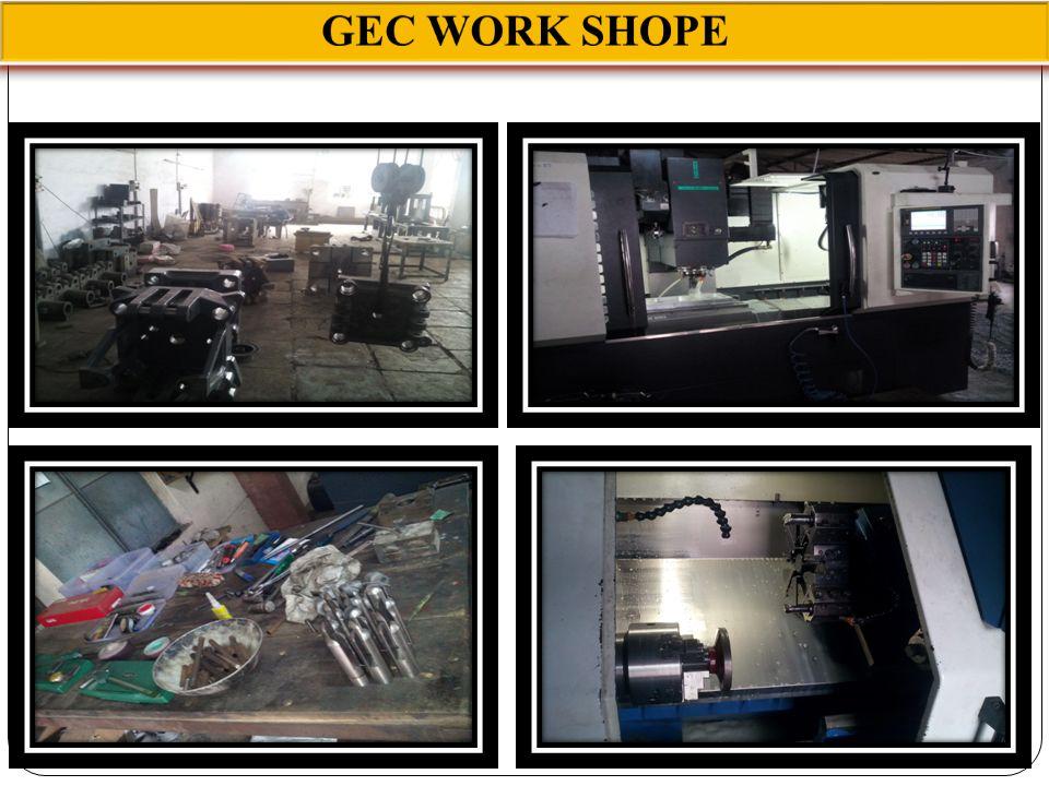 GEC WORK SHOPE