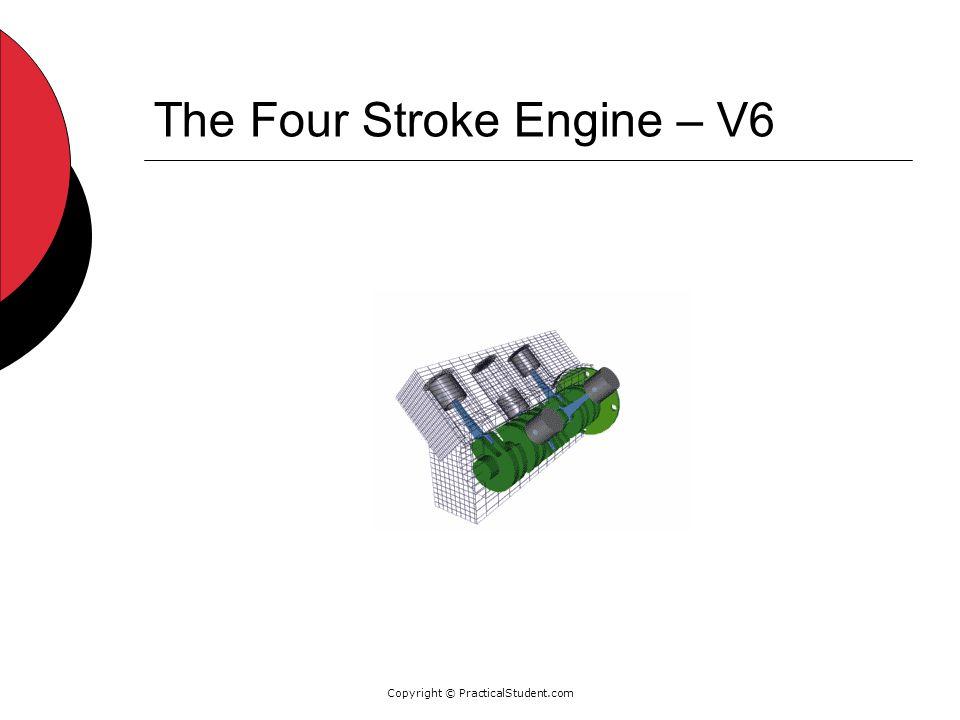 Copyright © PracticalStudent.com The Four Stroke Engine – V6