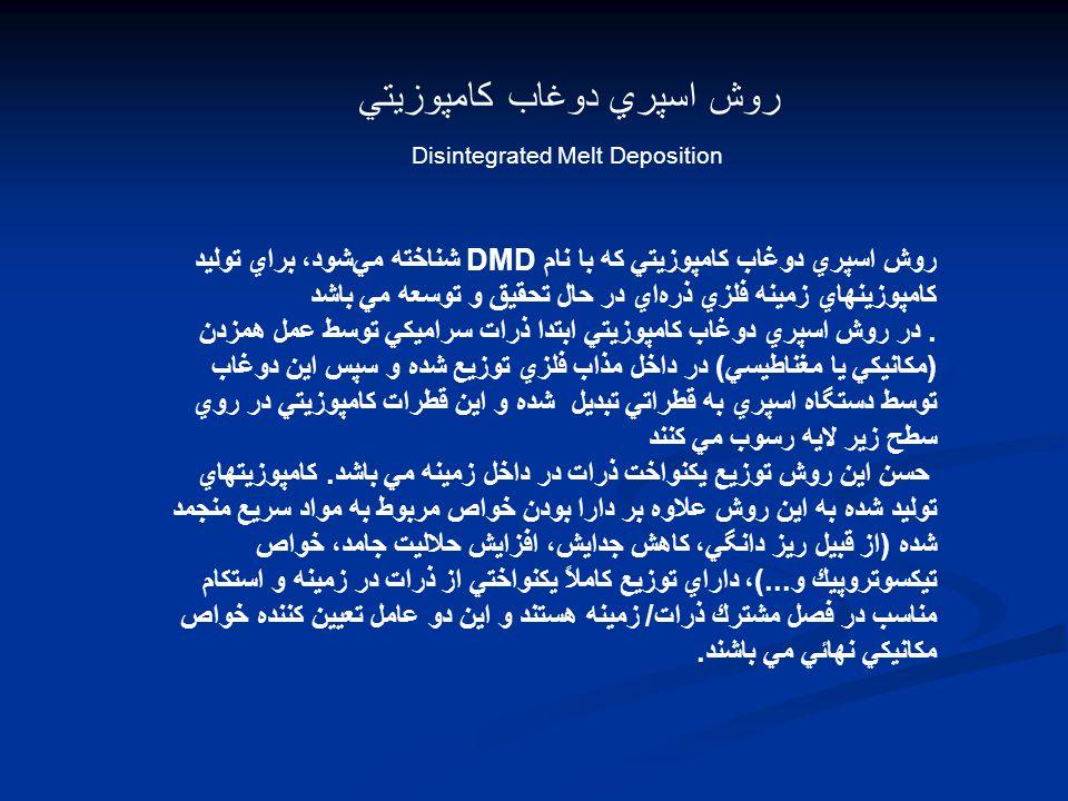 Disintegrated Melt Deposition (DMD)