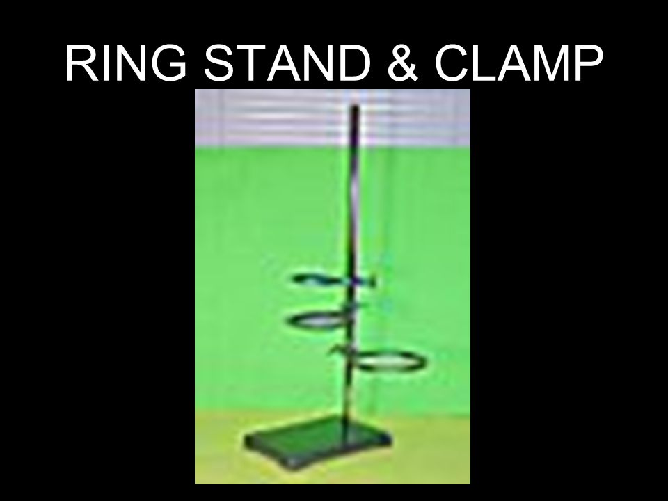 RING STAND & CLAMP