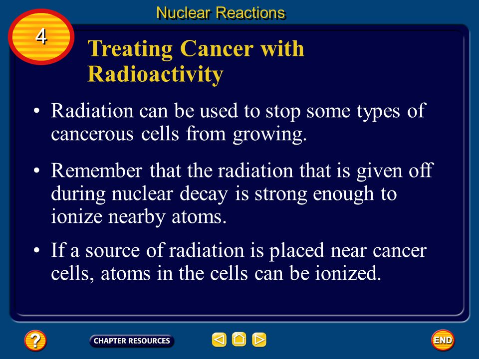 Iodine Tracers in the Tyhroid Nuclear Reactions If the detected radiation is not intense, then the thyroid has not properly absorbed the iodine- 131 and is not functioning properly.