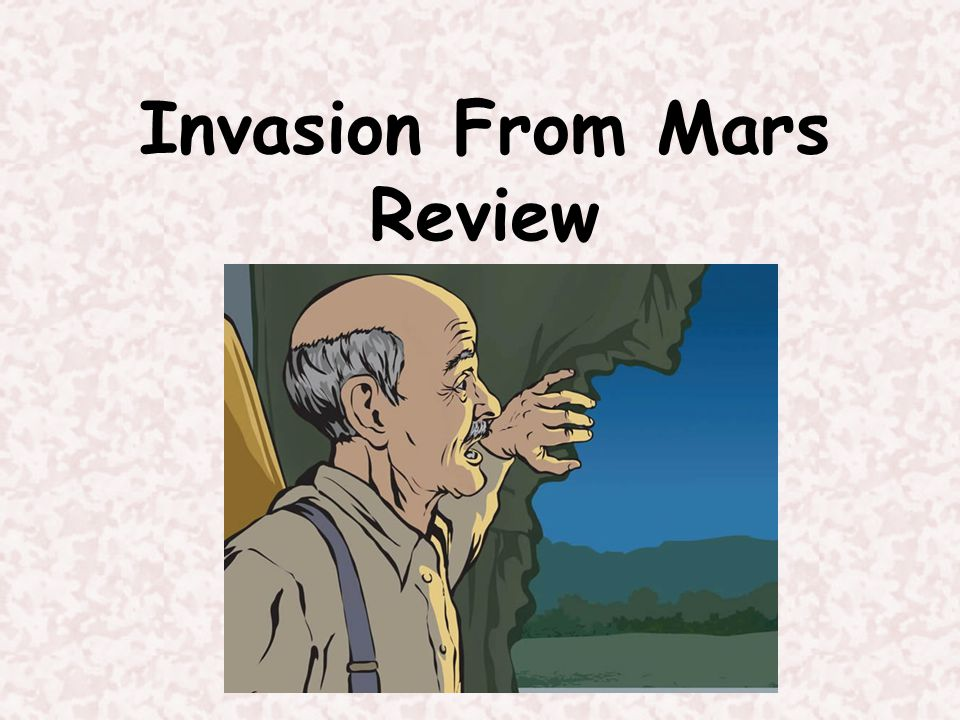 What genre is Invasion From Mars . Invasion from Mars is a Play.