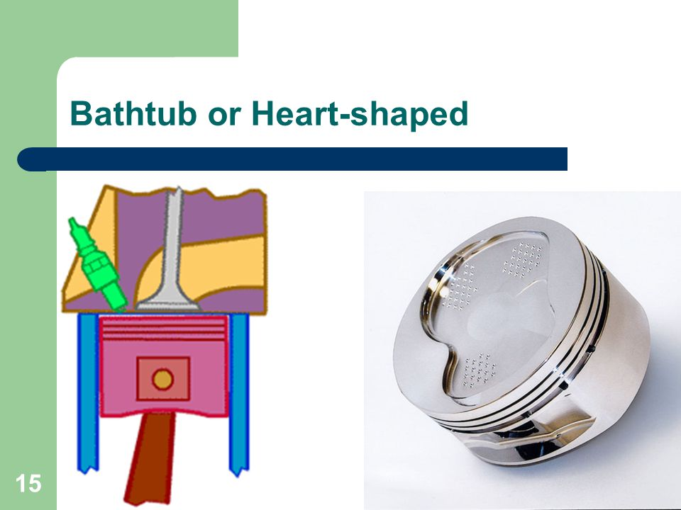 15 Bathtub or Heart-shaped