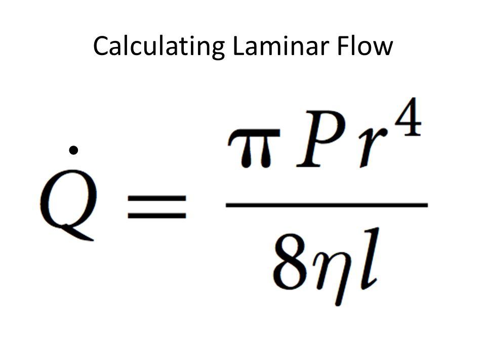 Calculating Laminar Flow