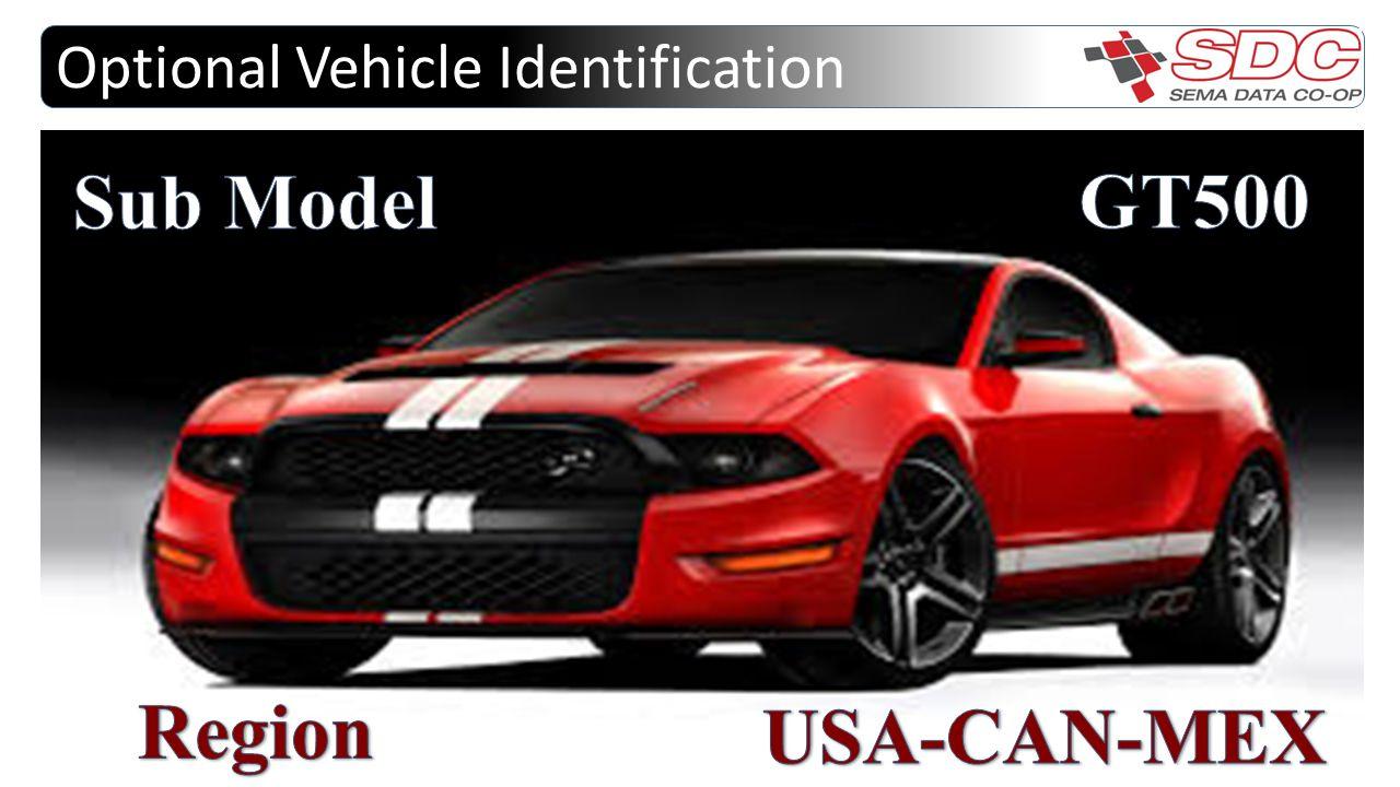 Optional Vehicle Identification
