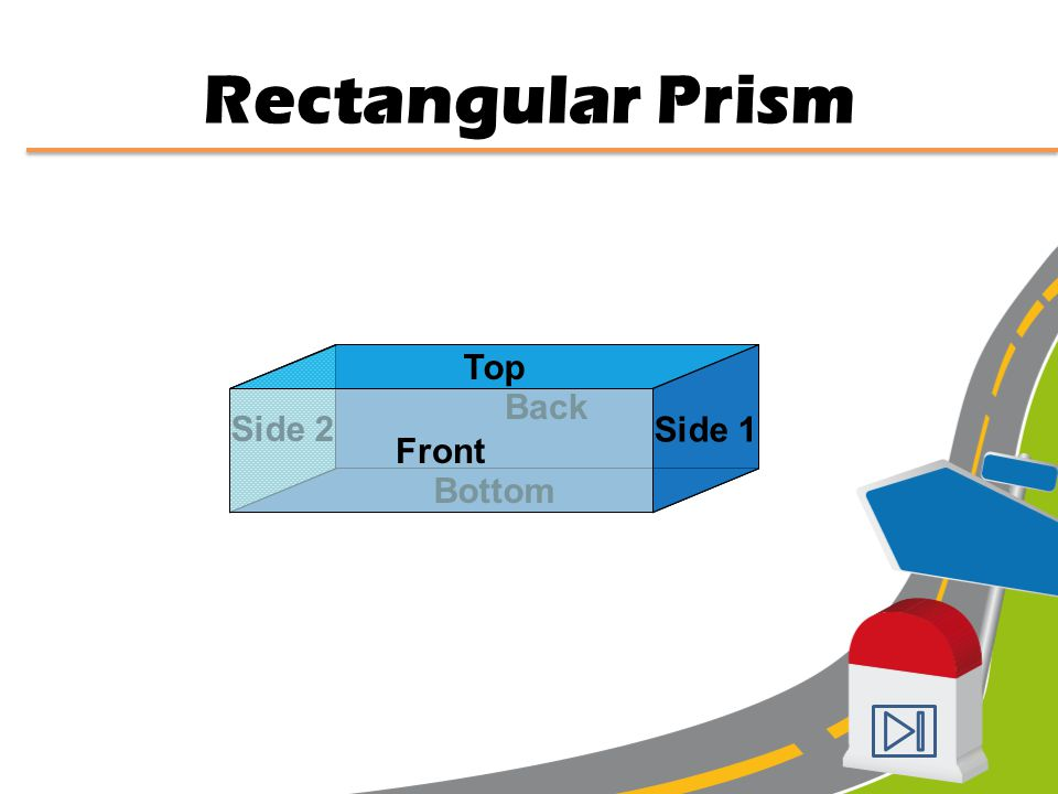 In a prism, the bases are two congruent polygons and the lateral faces are rectangles or other parallelograms. PRISM In a pyramid, the base can be any