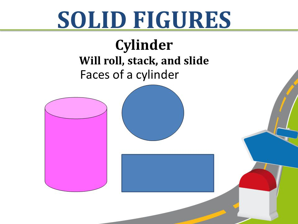 RECTANGULAR PRISM Will slide and stack Faces of a rectangular prism SOLID FIGURES