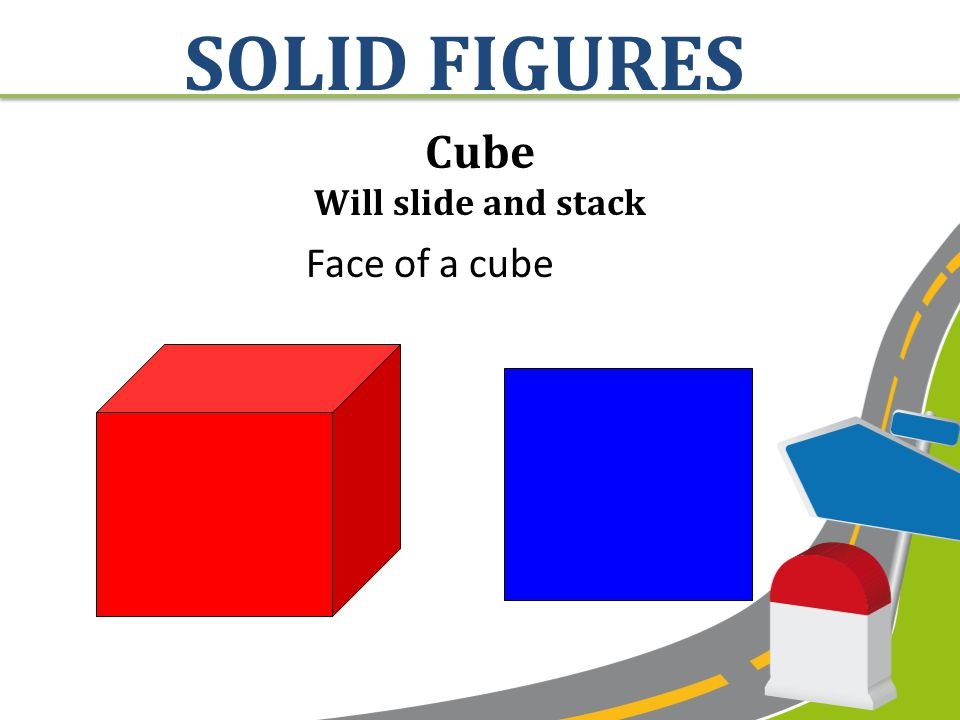 Cone Will roll and slide Face of a cone SOLID FIGURES