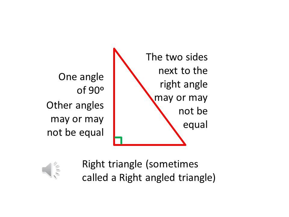 Scalene triangle No equal sides No equal angles