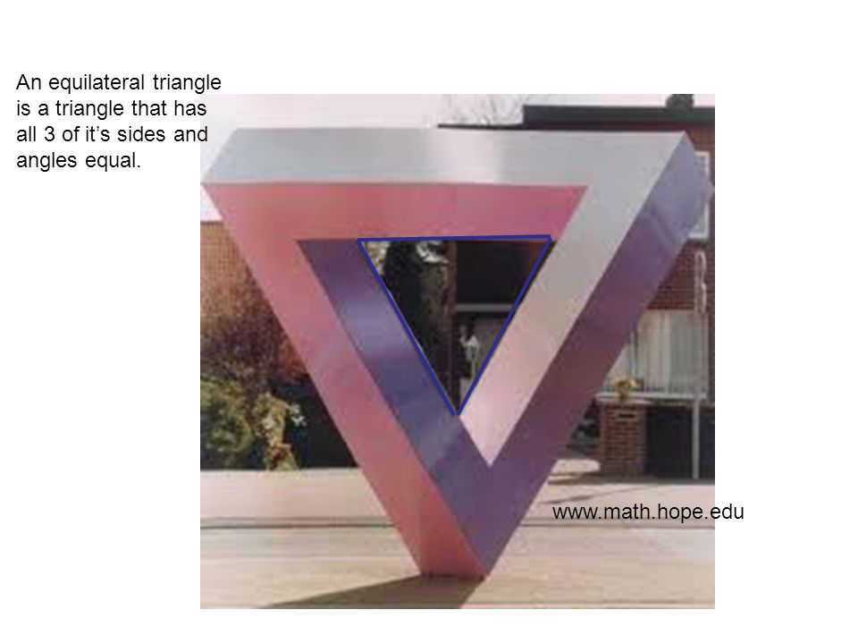 A scalene triangle is a triangle with all of the sides not equal in length. sugargar.wix.com