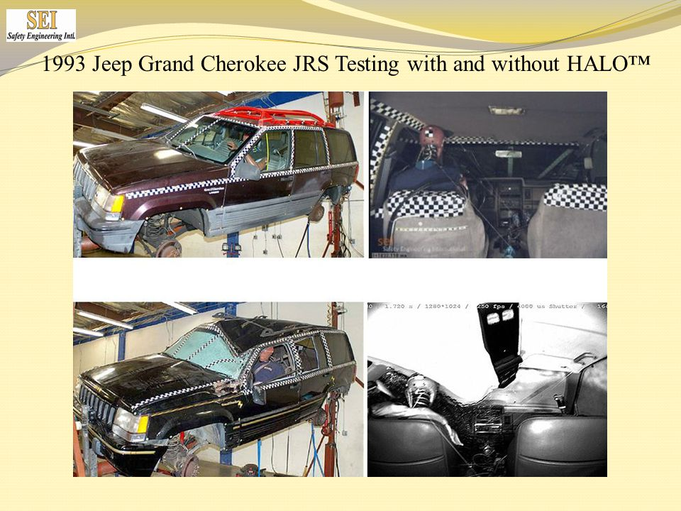 1993 Jeep Grand Cherokee JRS Testing with and without HALO™