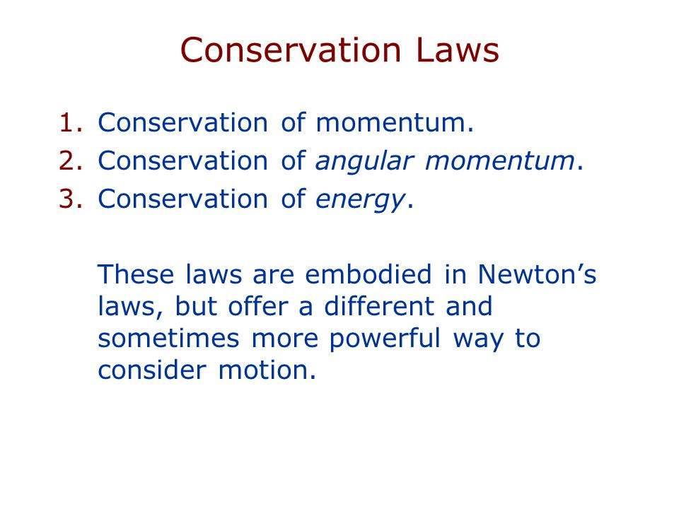 ASTR100 (Spring 2008) Introduction to Astronomy Conservation Laws and Gravity Prof.